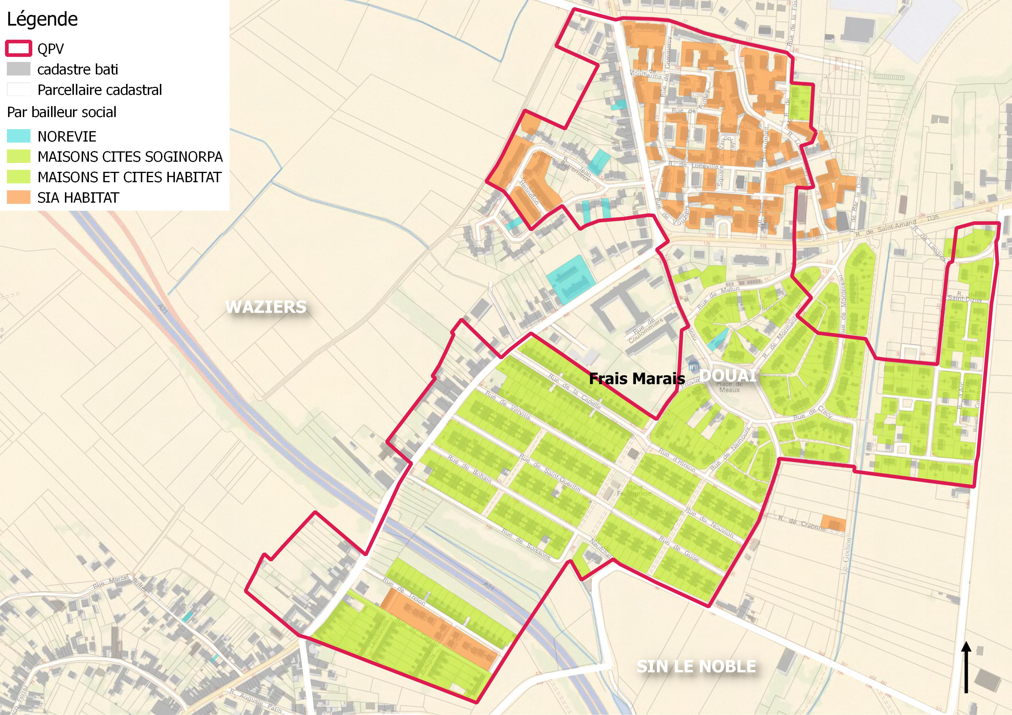 Quartiers prioritaires communaut d 39 agglom ration du - Nouvelle piscine douai ...